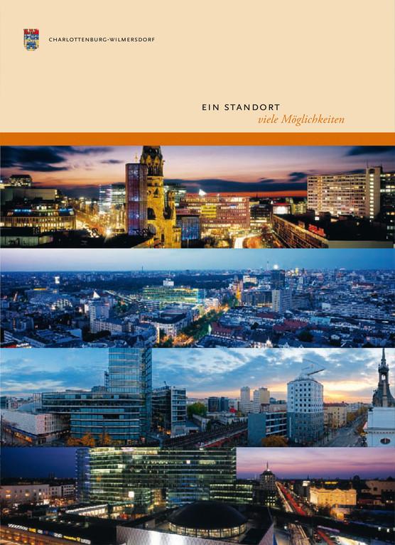 Pamoramafotografie für Titel Ein Standort viele Möglichkeiten Bezirksamt Charlottenburg