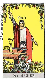 Der Magier, Waite-Smith Tarot