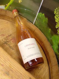 Vin L'Éphémère - Vallée de la Loire