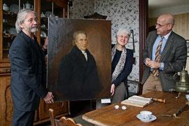 Übergabe des Daniel-Schürmann-Bildes an das Historische Zentrum Remscheid (Febr. 2013)