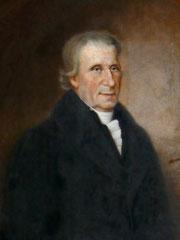 Porträt Daniel Schürmanns (Felix Ehrlich, 1927) - Zustand vor der Restaurierung