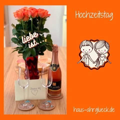 Hochzeitstag im Haus AhrGlück