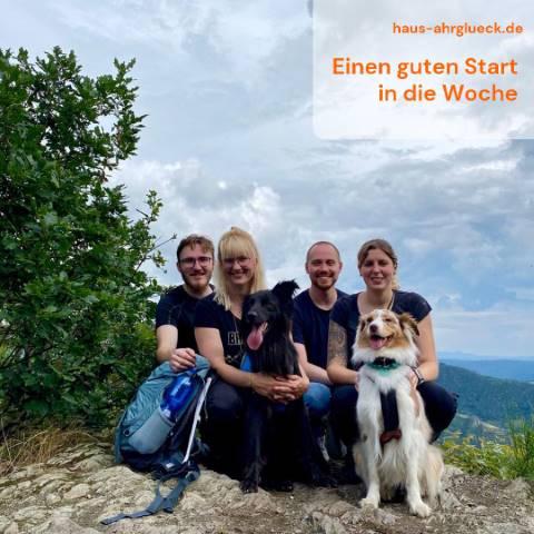 Zu Gast im Ferienhaus AhrGlück in der Eifel