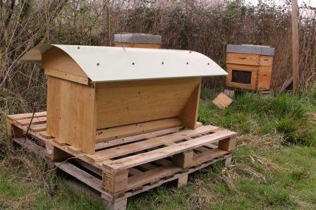 La ruche Horizontale TBH du Rucher de Abesses