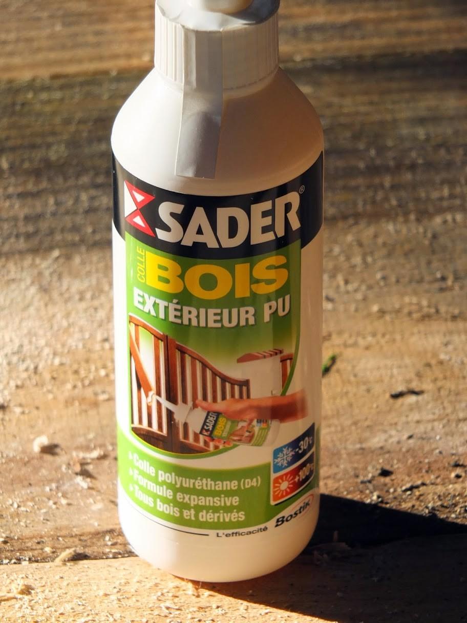 Ruche en palettes, The colle PUD4 qui garantie une bonne durée de vie à votre ruche.