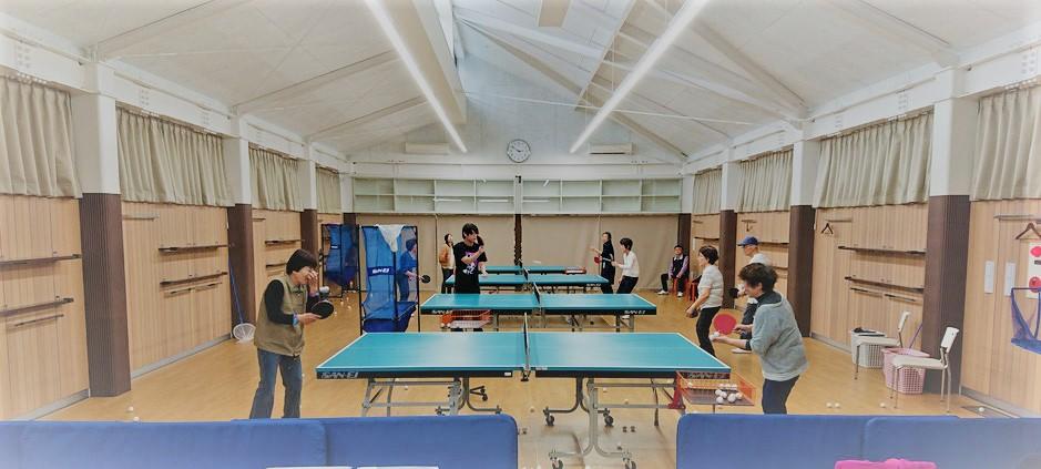 卓球 シニア 高齢 年配 主婦 大人 基礎 技術 運動 健康 体力 初心 入門