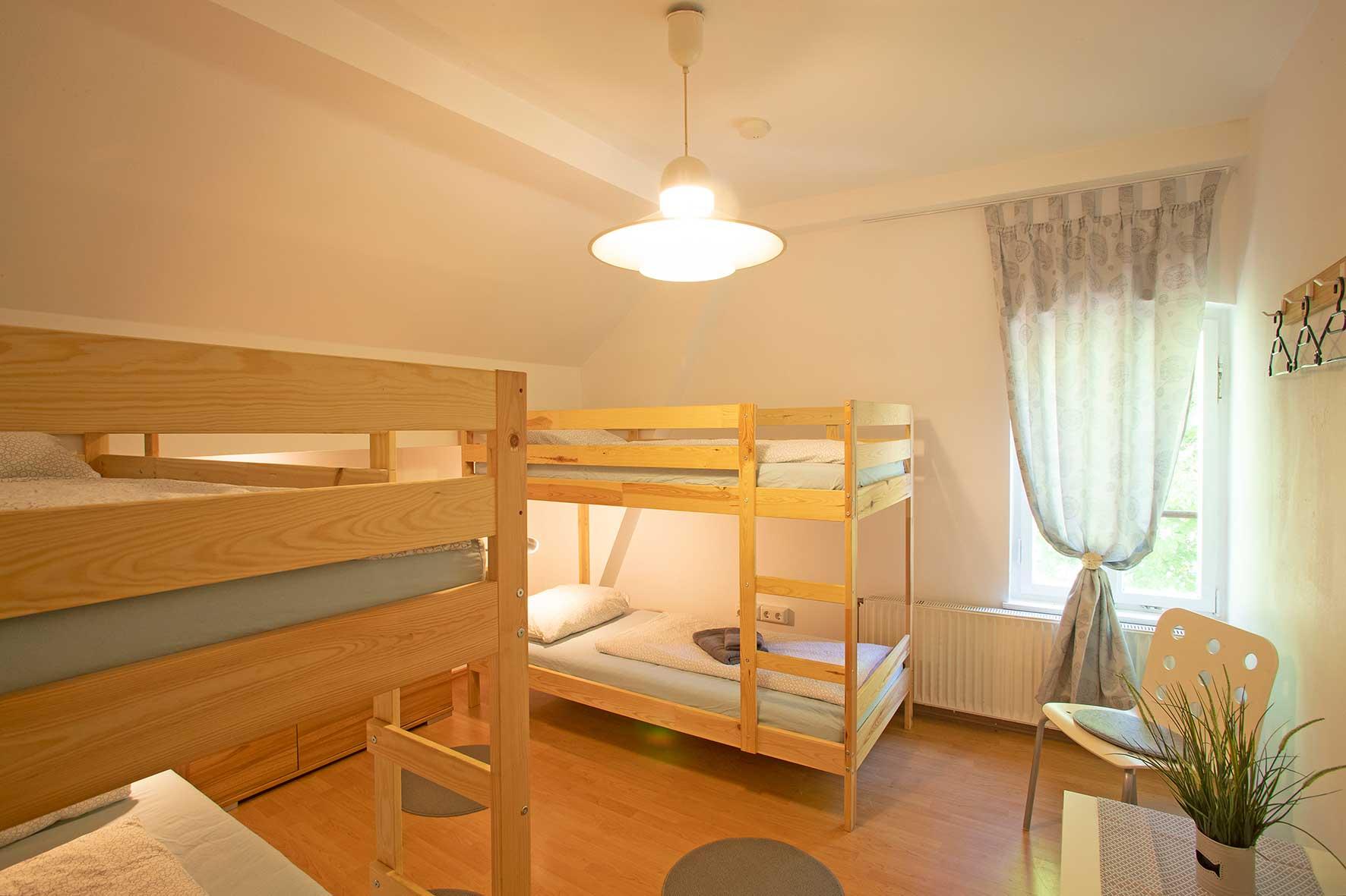 Zimmer 23, 4-Bett Zimmer