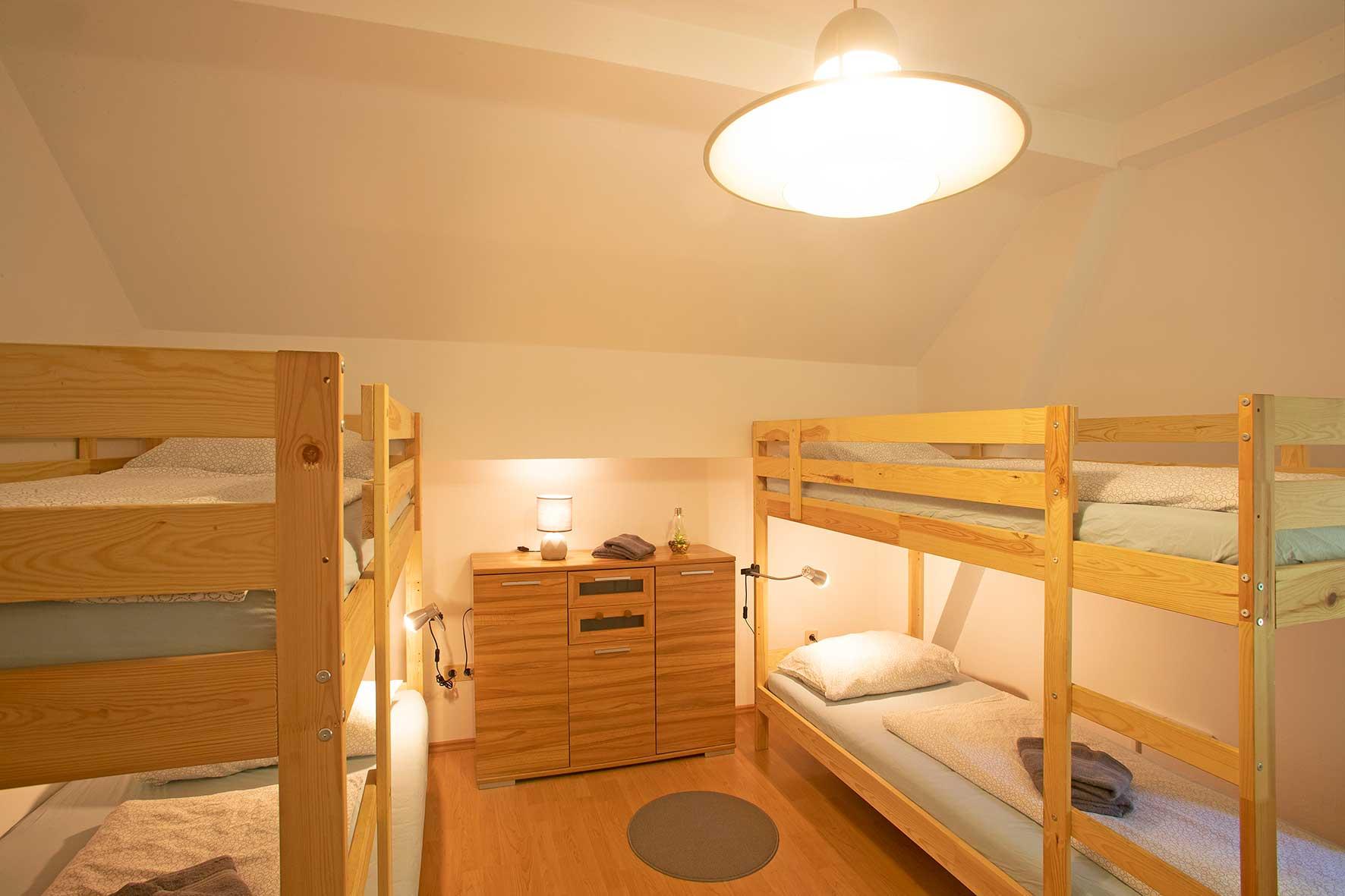 Zimemr 23, 4-Bett Zimmer