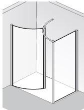 Rundelement mit Seitenwand