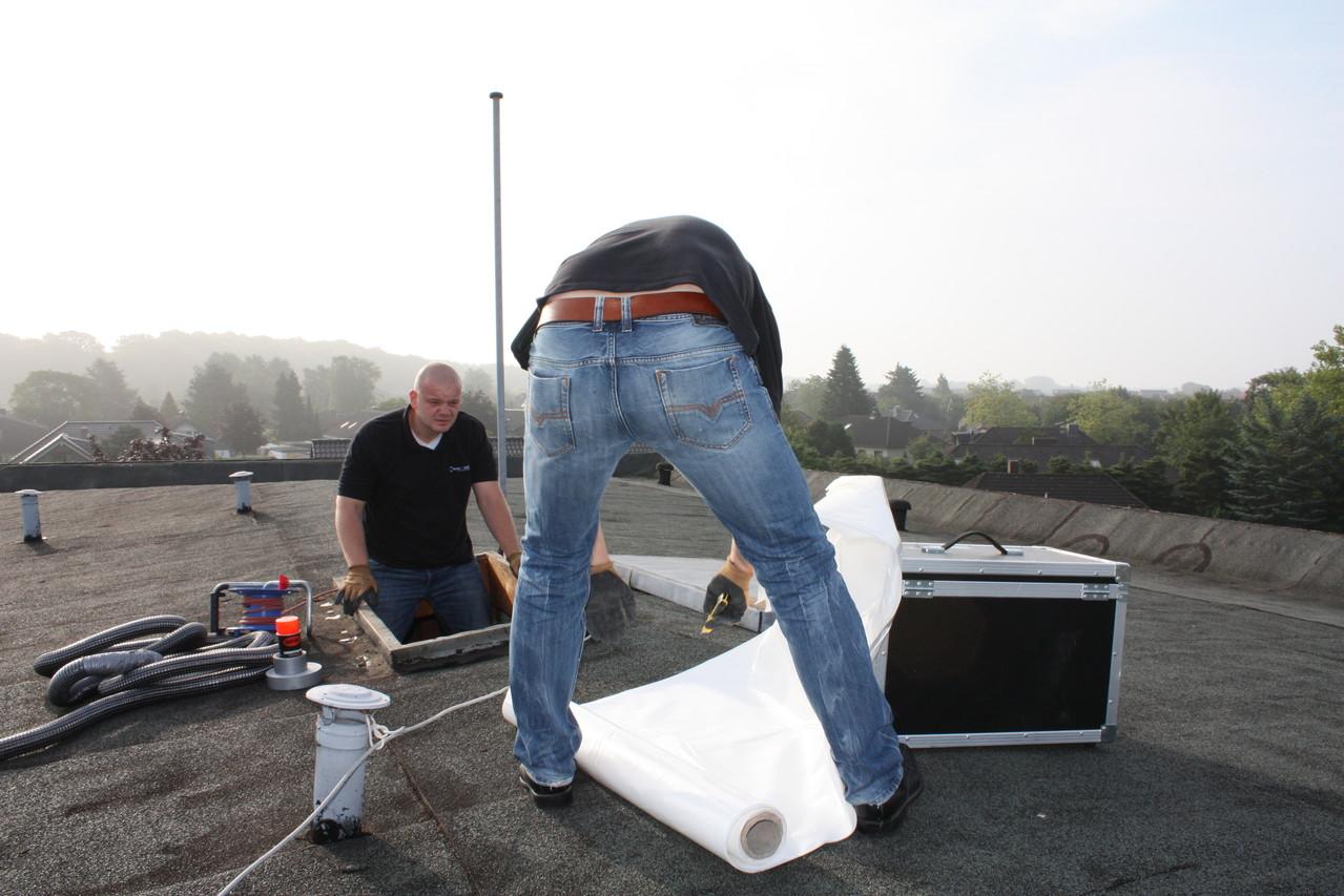 Aufbau Abdichtung Dachluke