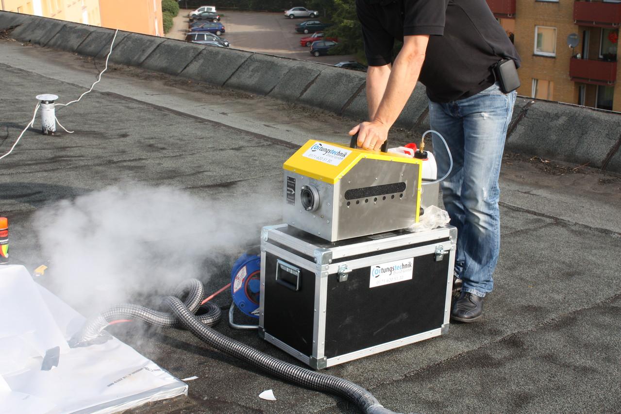 Test Nebelgenerator