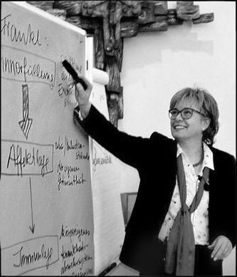 Dr. Heidi Schönfeld in der Logotherapie - Ausbildung in Bamberg