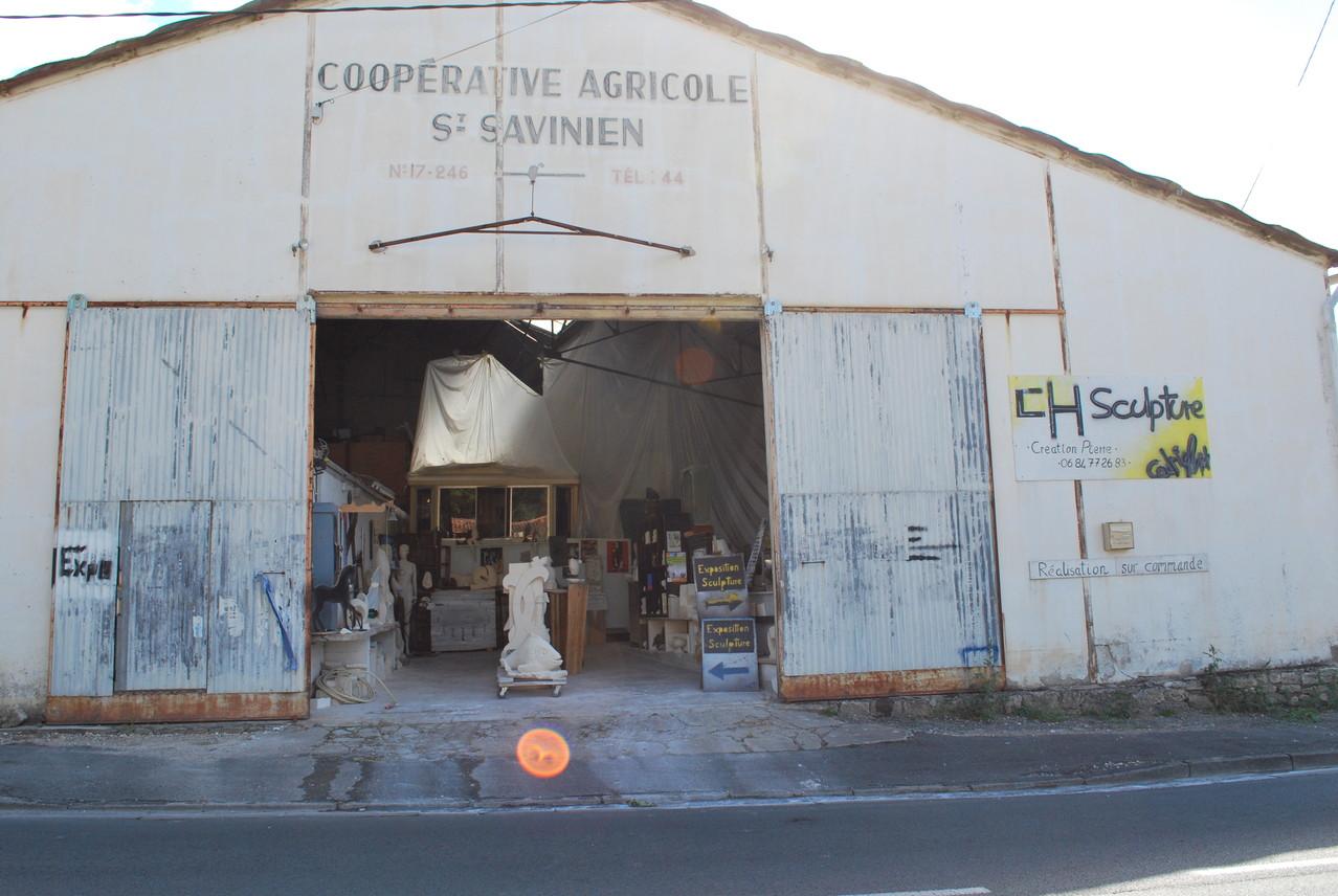 atelier de sculpture / Saint Savinien / Charente Maritime