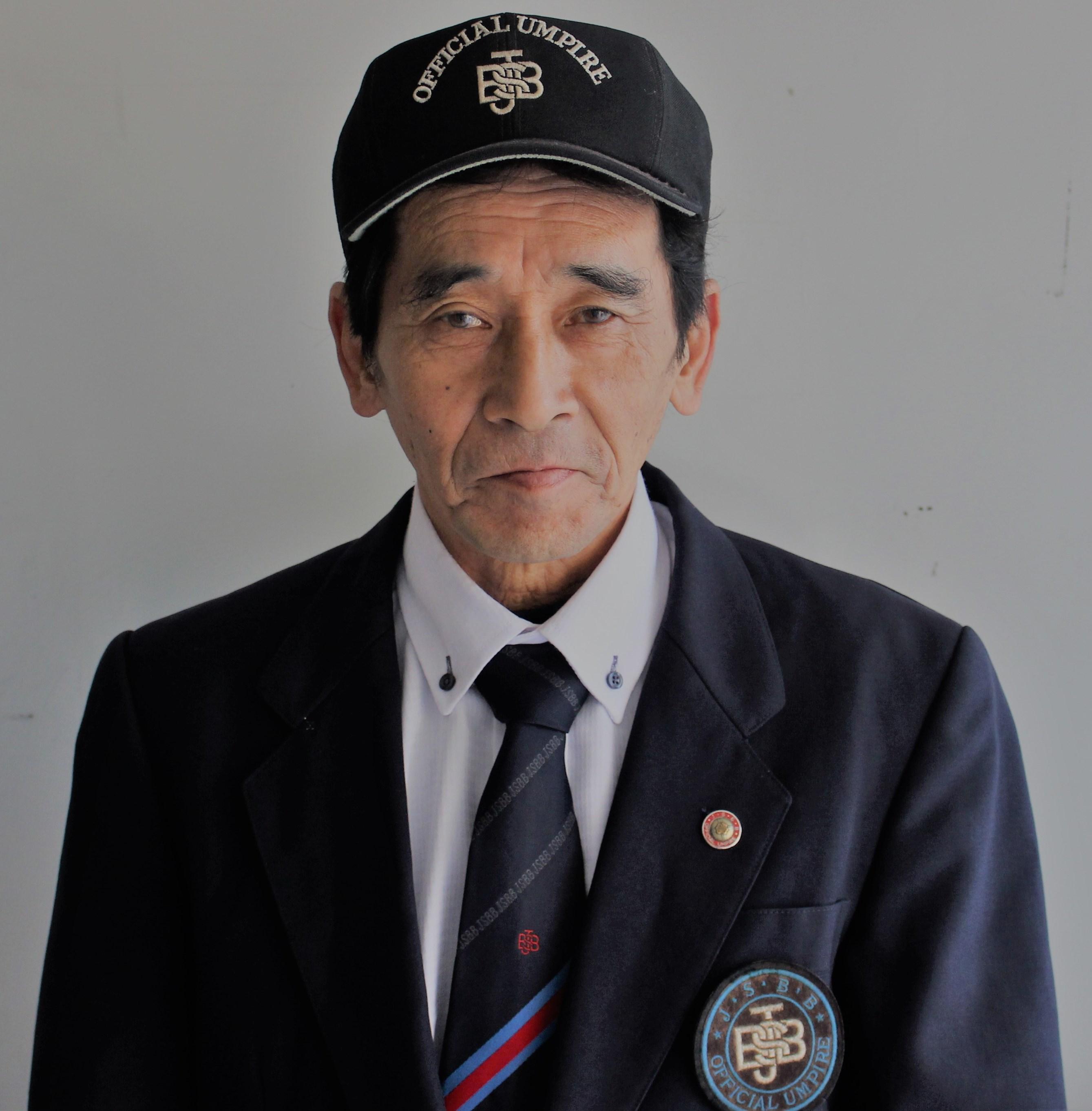 三田少年軟式野球協会 会長写真