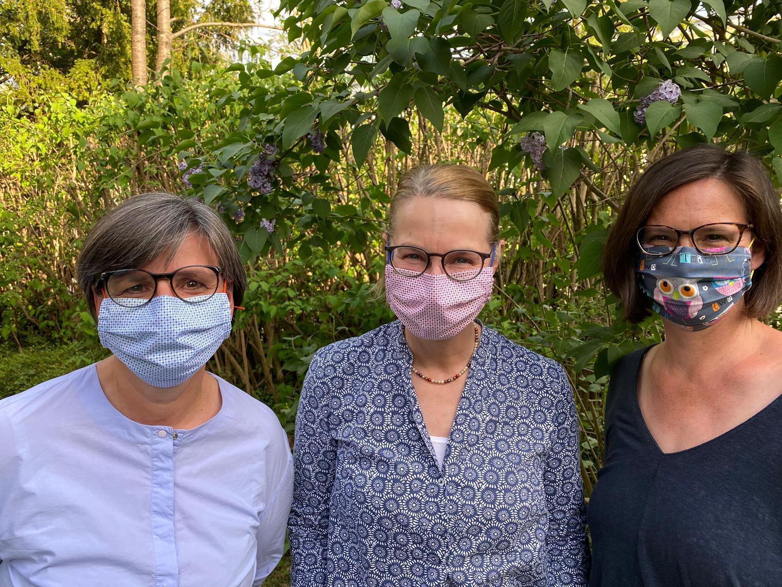Masken-Team