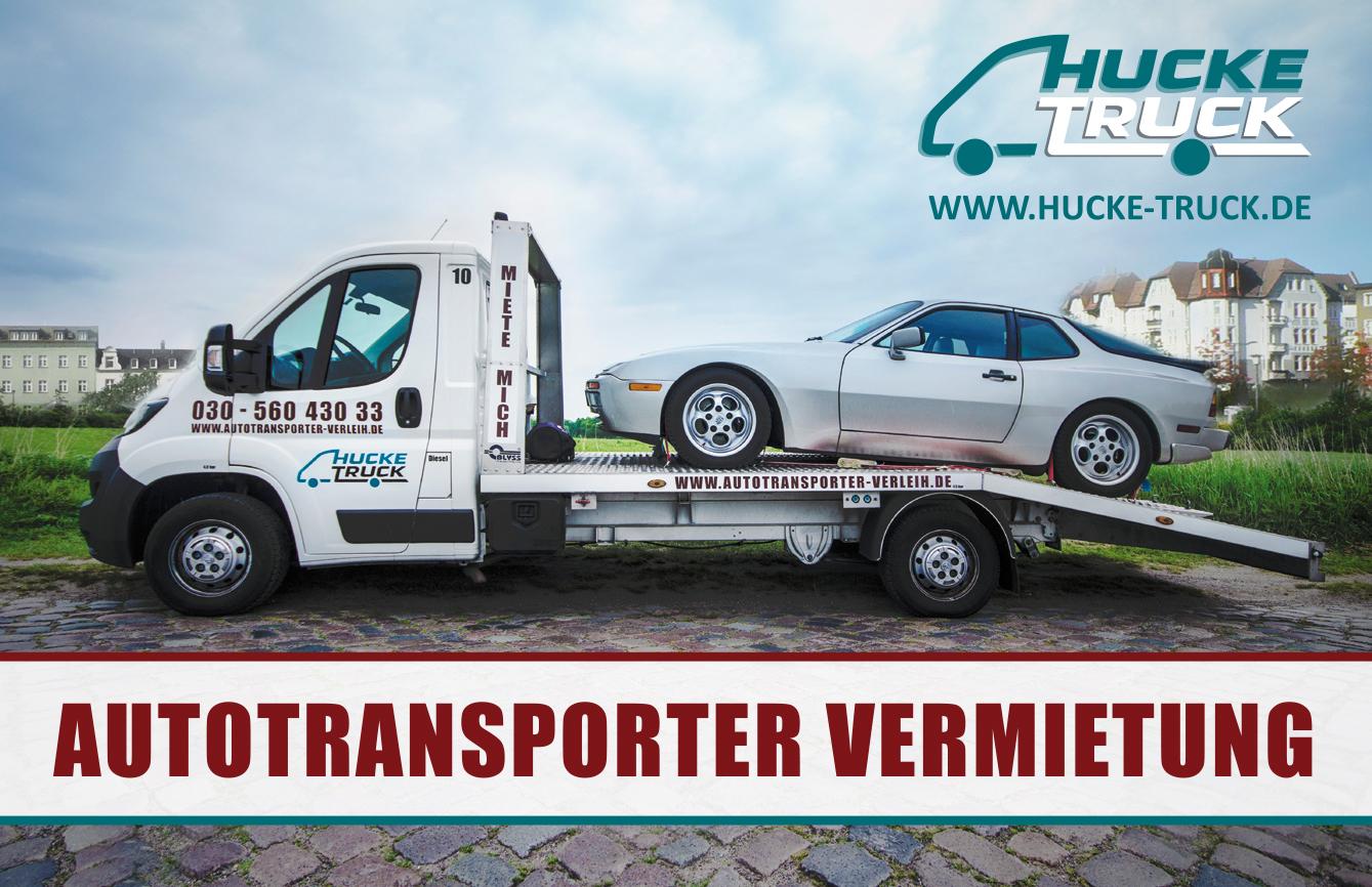 hucke truck autotransporter vermietung f hrerscheinklasse b ab 59 90 autotransporter. Black Bedroom Furniture Sets. Home Design Ideas