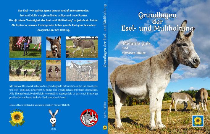 Esel-Workshop | Buch Grundlagen der Esel- und Mulihaltung von Melanie Golz und Christine Möller
