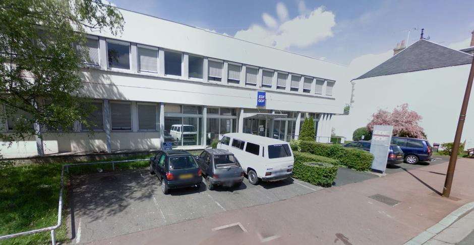 AVANT : l'ancienne agence EDF/GDF