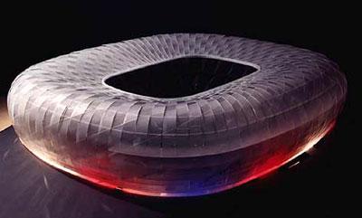 Allianz Arena Entwurf