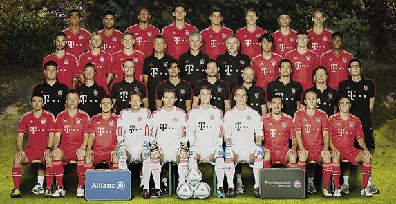 FC Bayern München - Mannschaft Saison 2011/2012