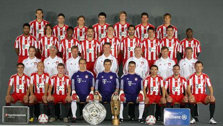 FC Bayern München - Mannschaft Saison 2010/2011