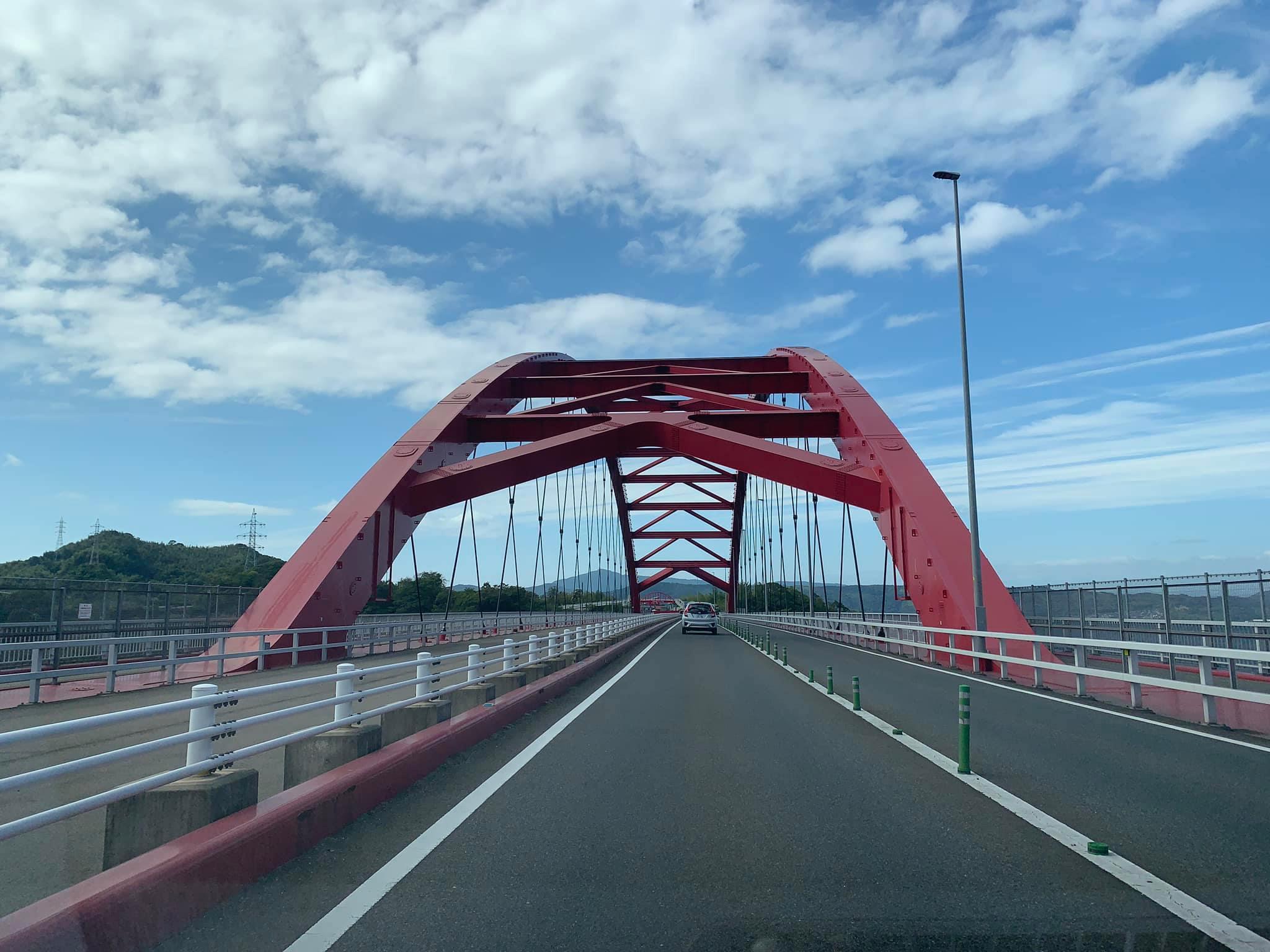 広島音戸大橋を抜けてドローン空撮に向かいます!
