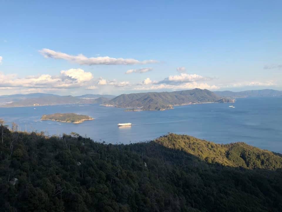 美しい弥山の絶景!!