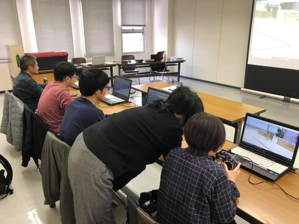 JUIDA広島ドローンスクール in 中国新聞社