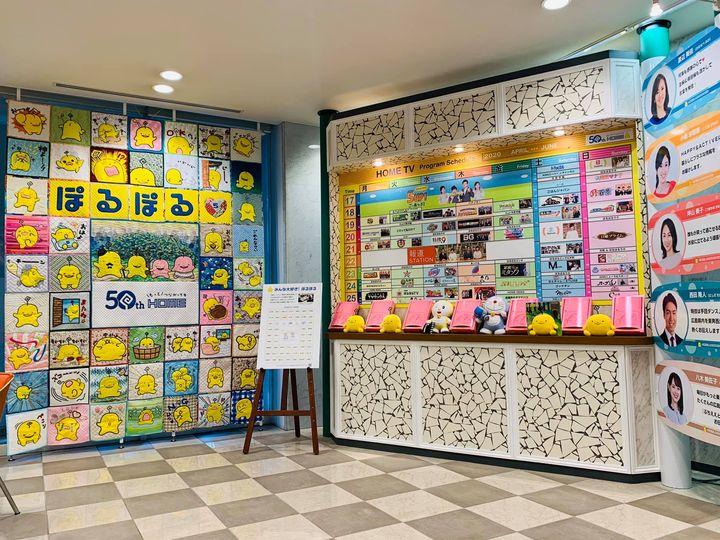 広島ホームテレビ開局50周年おめでとうございます!