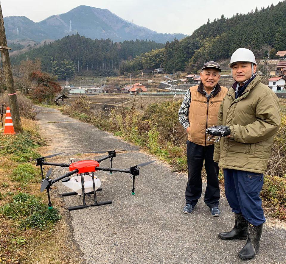 FLIGHTS-AG飛行見学会in広島市安佐北区小河内