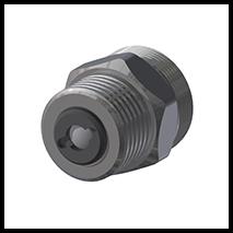 """Adapterstück mit  Rückschlagventil G1/2""""  (2-AD-RSV-12)"""