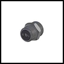 """Adapterstück mit  Rückschlagventil G1/4""""  (1-AD-RSV-14)"""