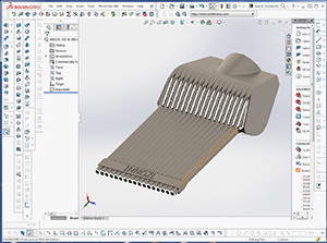 Analyse 3D Düse 1