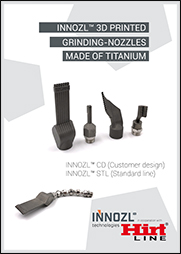 3D printed grinding nozzles