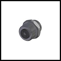 """Adapterstück mit  Rückschlagventil G3/8""""  (1-AD-RSV-38)"""