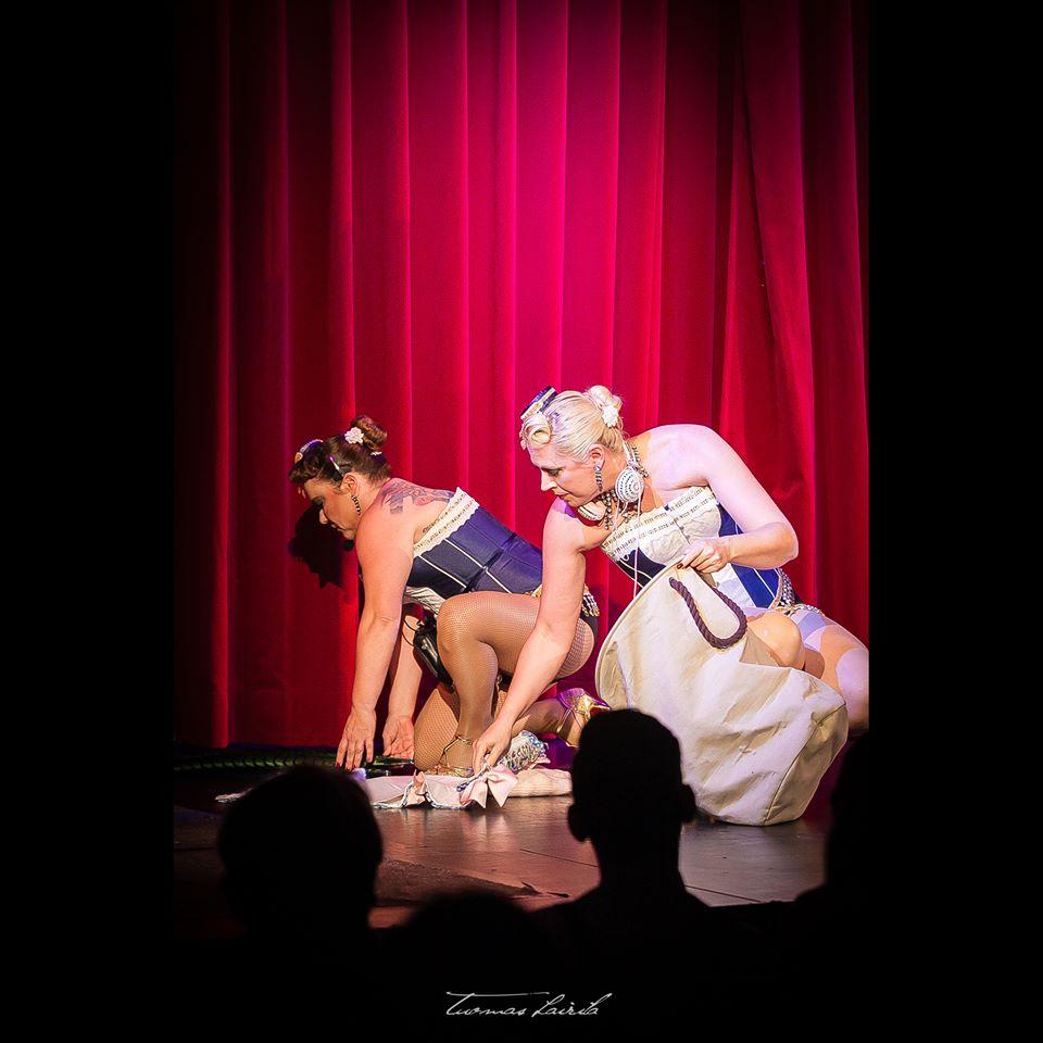 Sugar LaLuz & Fay Duval