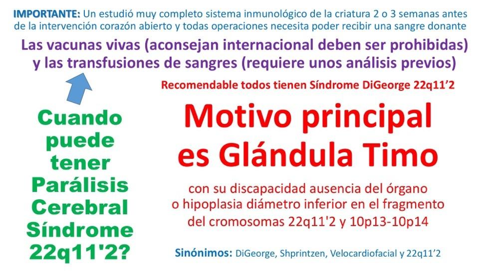 Inmunodeficiencias congénitas - Síndrome DiGeorge (TEL \