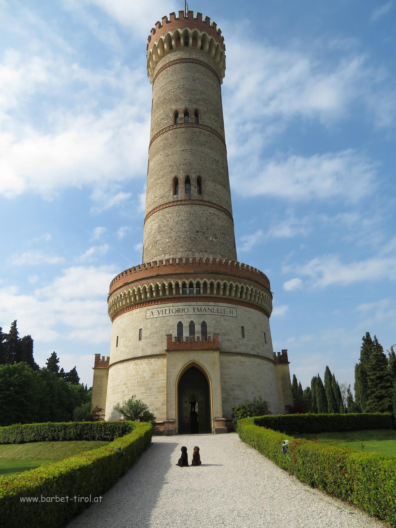 Der Turm von San Martino della Battaglia