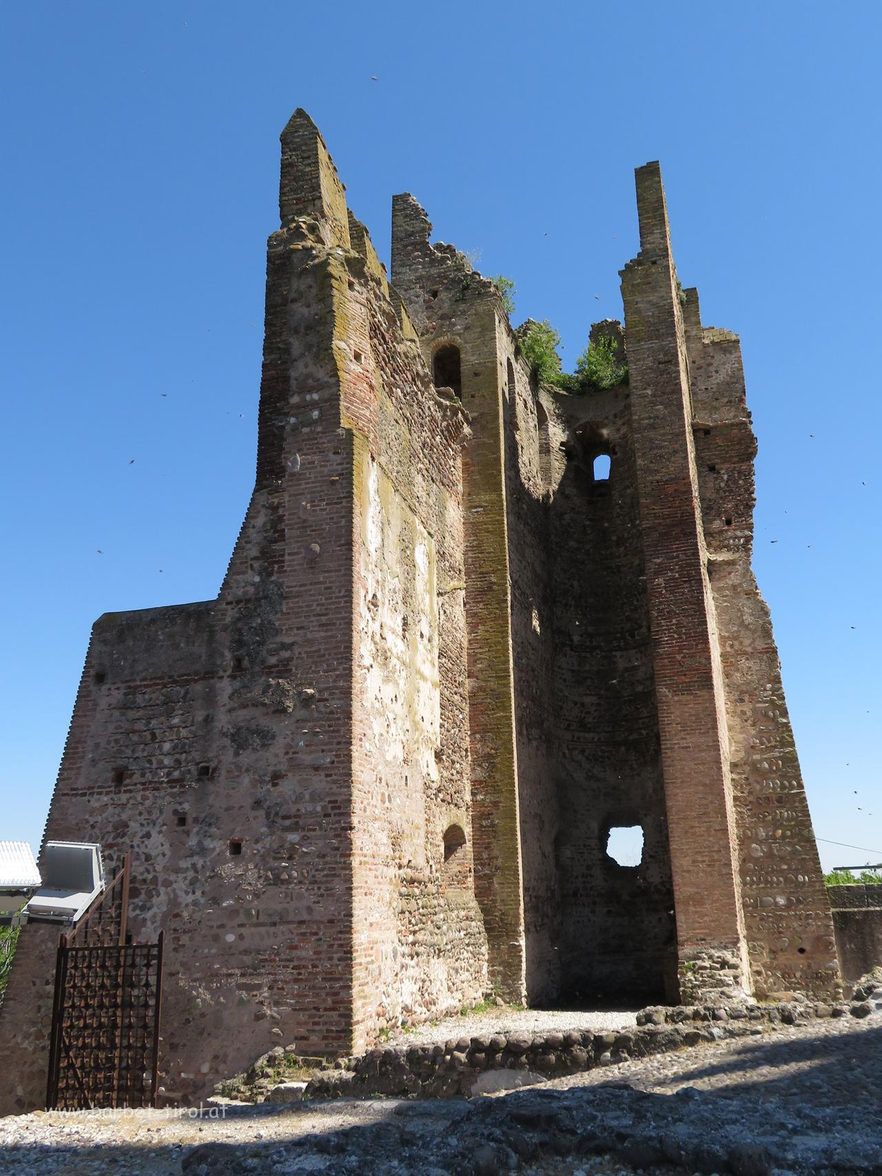 Am Skaliger Schloss von Valeggio sul Mincio