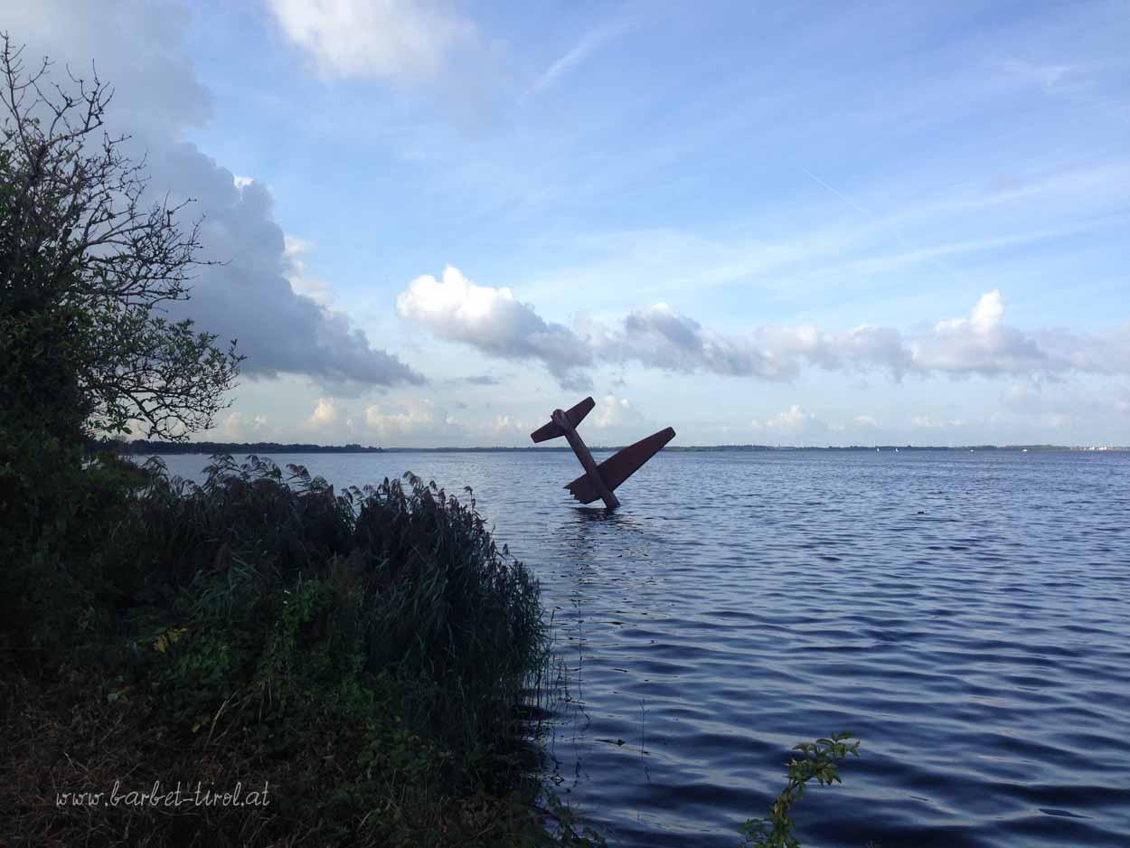 Die Niederländer haben schon witzige Ideen den Flugraum zu erweitern