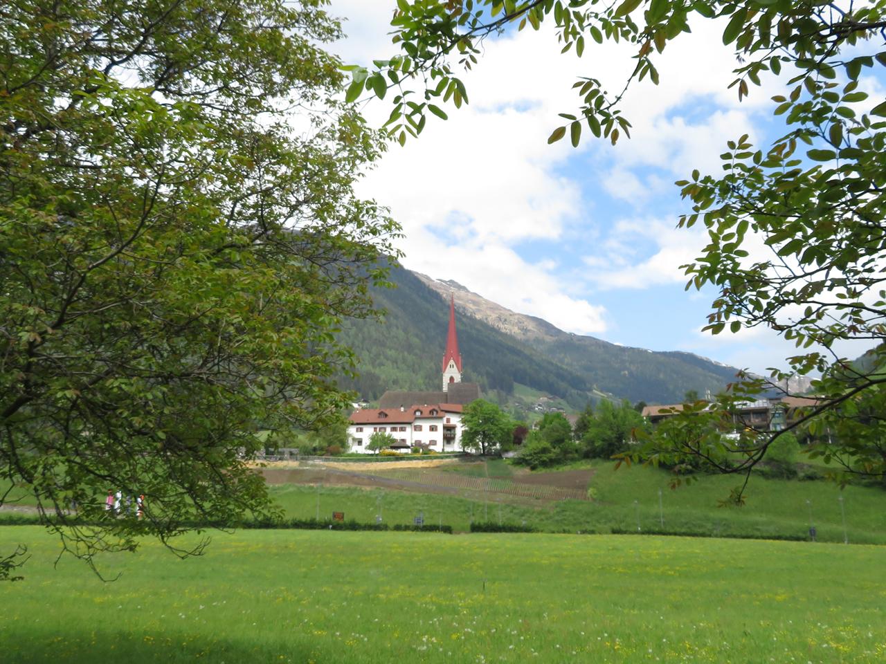 Unser Urlaub beginnt in St. Leonhard, der Geburtsstätte von Andreas Hofer, im Passeiertal.