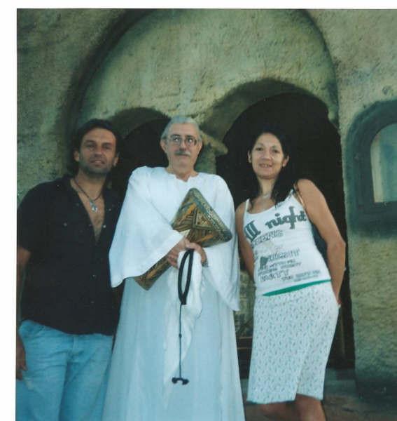 Junto al Maestro Osvaldo Brandan