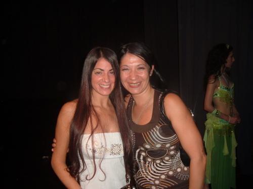 Junto a la Maravillosa Bailarina Saida