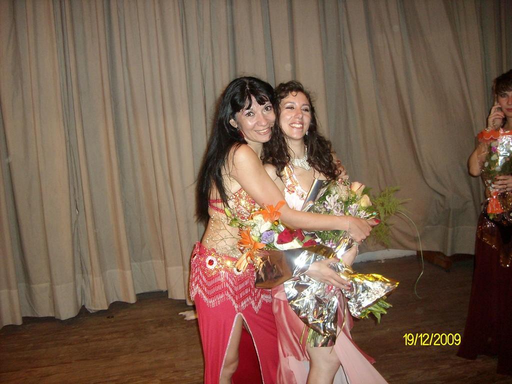 Mi primera Bailarina Dany el dia de su Egreso!!!!