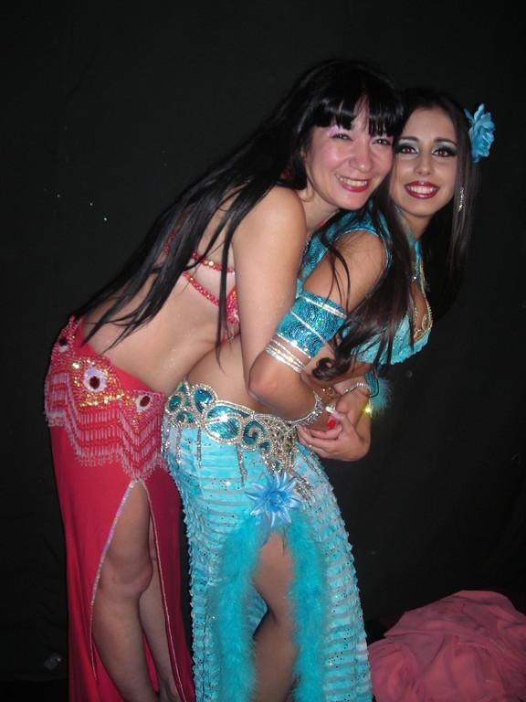 Con Sabrina Colman