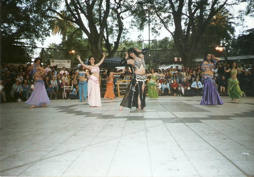 Feria de las colectividades de Martinez 2005