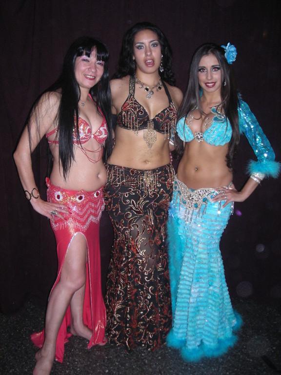 Junto a dos Grandes de la danza Shilananda y Sabrina Colman