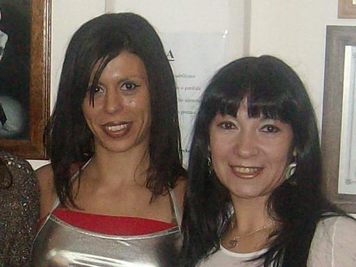 Con la gran Bailarina Y Profesora Romina Fontechia;gracias Romi por confiar siempre en mi!!!!