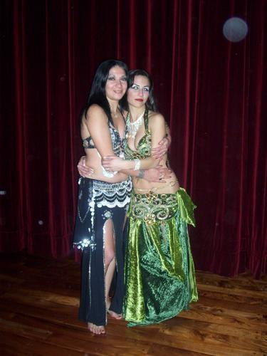 Junto a Lila Voghera,una excelente bailarina,pero aun mejor amiga!!!