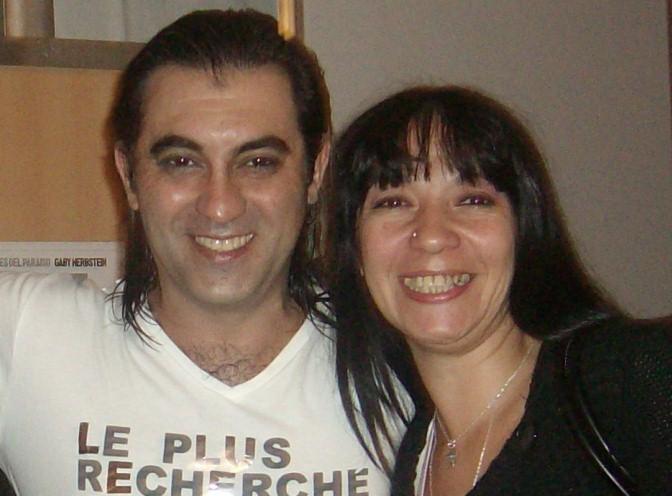 Con el Gran Maestro Amir Thaleb